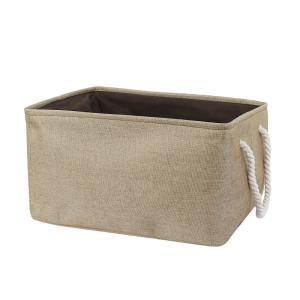uxcell 収納ボックス 収納 ボックス 収納ケース 小物入れ 折りたたみ 衣類 インナーボックス バスケット 防塵 チョコレート色 XXLサイズ|soten2