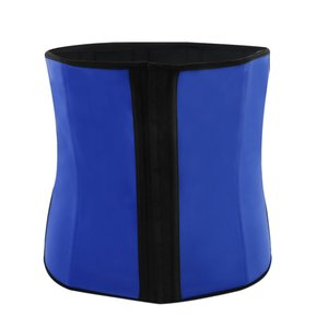 uxcell ウエスト シェイプウェア ボディ シェイパー ベリーベルト ウエスト トレーナー ラップガードル ブルー サイズ XL|soten2