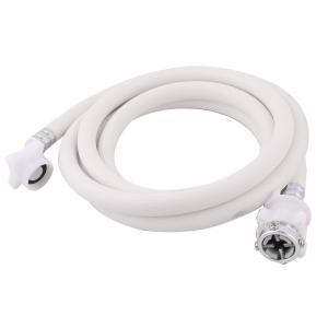 uxcell 洗濯機給水ホース 延長ホース 洗濯機専用 交換用 延長 PVC 水道管 ワッシャー コネクタ 洗濯機 インレットホース 2.5M|soten2