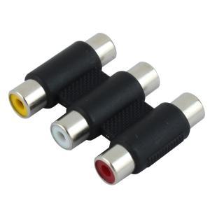uxcell 2ポート USBマザーボードケーブル メス-メスF/F RCA AV カプラジョイナー コンポーネント|soten