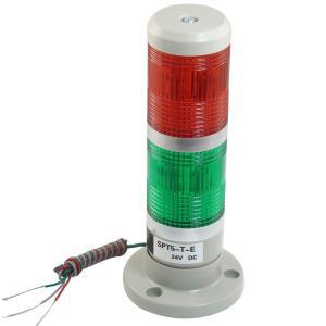 uxcell 工業用信号灯 インジケータ DC 24V レッド グリーン|soten