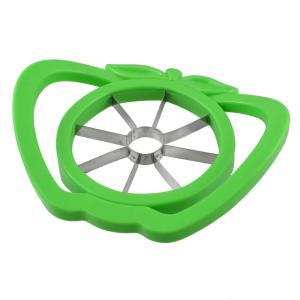 製品名 :アップルスライサー;素材:プラスチック、メタル カラー:グリーン;カット直径 : 10cm...