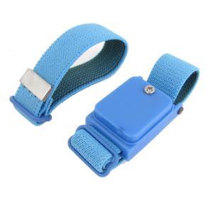 uxcell コードレスリストストラップ ブルー プラスチック材質 19 x 2.8 x 1.5cm
