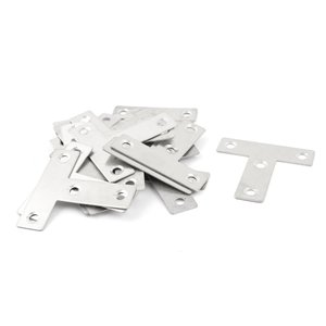 uxcell T字金具 棚受け サポートブラケット ブラケット支持具 4穴 50 x 50mm 20...