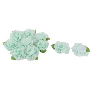 カラー: アクアマリン、オリーブグリーン; 材質: シフォン、コットン;結婚式装飾、ドレスと靴の粉飾...