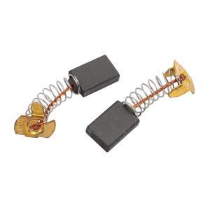 uxcell モーターカーボンブラシ 電気ドリル モータ電源ツール ブラック ブラストーン 5 x ...