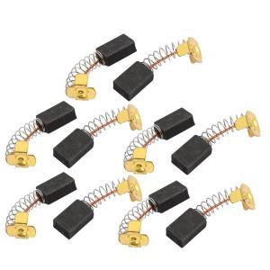 uxcell モーターカーボンブラシ 電動ドリルモータ 回転電源ツール 6 x 10 x 15mm ...
