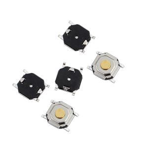 uxcell タクトスイッチ プッシュボタンスイッチ パネルのモーメンタリ タクタイルタクト 4ターミナル 5mmx5mmx1.5mm 5個入り|soten