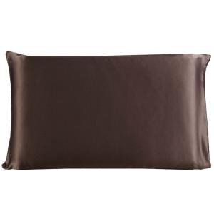 ファブリック:シルクの枕カバーは、19匁400糸数で両面に100%グレードA標準の桑のシルクで作られ...