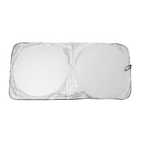 uxcell 車のフロントガラスサンシェード 汎用 ナイロン製 折り畳み式 リア 窓 フロントガラス...