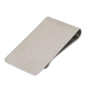 uxcell マネークリップ シルバートーン ステンレススチール材質 クレジットカードホルダー|soten