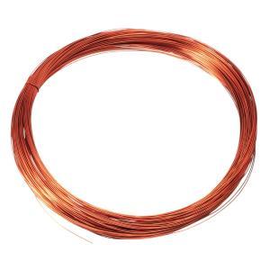 uxcell エナメル銅線 巻線コイル マグネットワイヤー 直径0.19mm 長さ50M トランスイ...