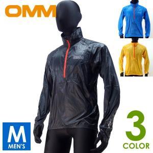 OMM オリジナルマウンテンマラソン メンズ ハーフジップ ウインドトップ Sonic Smock ...