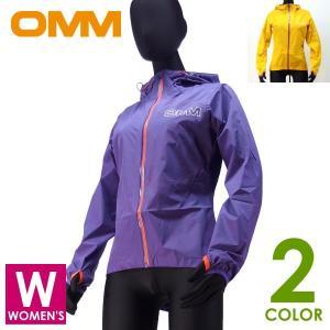 OMM オリジナルマウンテンマラソン レディース フルジップパーカー Aeon Jacket トレイ...
