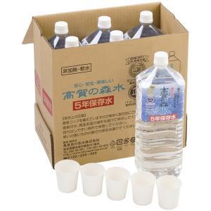 高賀の森水 5年保存水 2Lボトル×6本|sotome