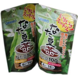 ポイント消化 送料無料 オリヒロ なたまめ茶 4g×14包入×3パックセット sotome