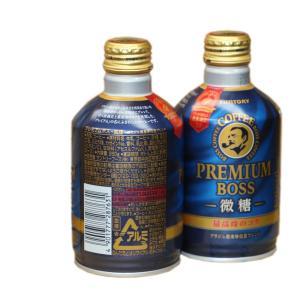 ポイント消化 サントリー 缶コーヒー プレミアムBOSS 微糖 260g缶 24本ケース販売|sotome