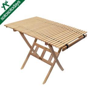 バイヤーオブメイン 木製 パンジーン ホワイトアッシュ ロールトップテーブル 12410072000000|sotosotodays