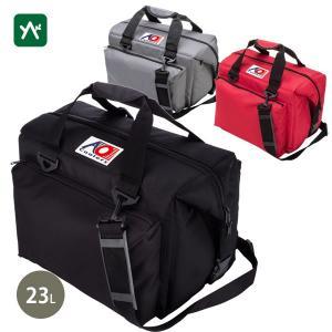 エーオークーラー クーラーバッグ 24パック キャンバス ソフトクーラー デラックス AO24DX|sotosotodays