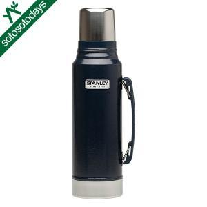 スタンレー アウトドア 水筒 クラシック真空ボトル 1L ネイビー 01254-050