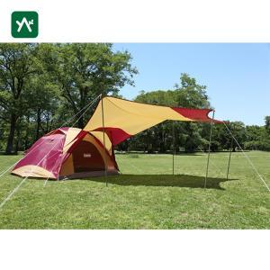 コールマン テント タフワイドドーム4/300ヘキサタープセット(バーガンディ) 2000026514 sotosotodays