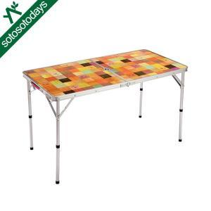 コールマン アウトドア ナチュラルモザイク リビングテーブル120プラス 2000026751|sotosotodays