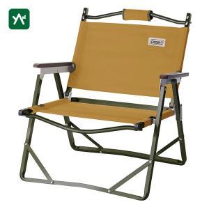 コールマン 折り畳みイス ファイヤープレイスフォールディングチェア(コヨーテブラウン) 2000034675|sotosotodays