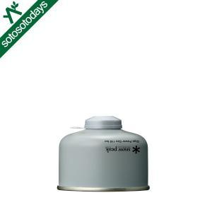 スノーピーク OD缶 ギガパワーガス110イソ GP-110SR