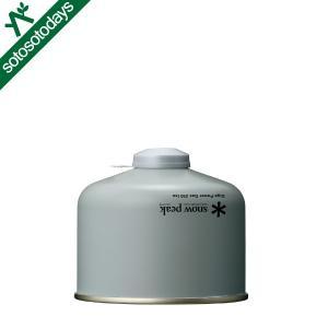 スノーピーク OD缶 ギガパワーガス250イソ GP-250SR