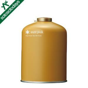 スノーピーク OD缶 ギガパワーガス500プロイソ GP-500GR