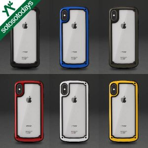 ルートコー スマホケース [iPhone X専用]Gravity Shock Resist Tough & Basic Case. GST8|sotosotodays