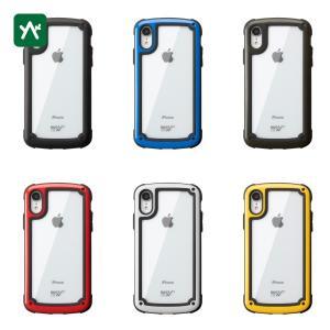 ルートコー スマホ [iPhoneXR]グラビティ ショックレジストタフ&ベーシックケース.  GST9-BK|sotosotodays