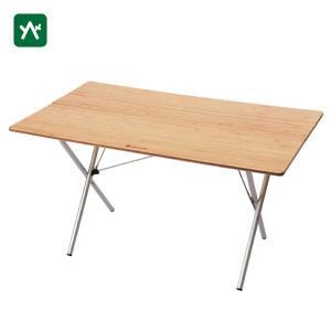 スノーピーク 折り畳み ワンアクションテーブルロング竹 LV-015TR|sotosotodays