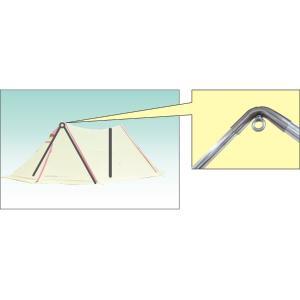 オガワ テント ツインピルツフォーク用二又フレーム 3045|sotosotodays