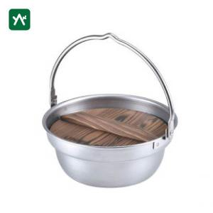 ユニフレーム ステンレス製 焚き火鍋 18cm 659984|sotosotodays