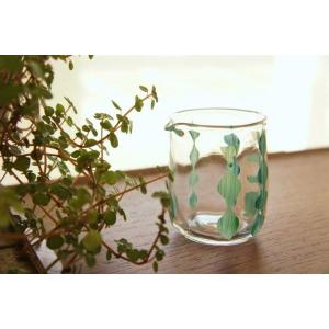 吹きガラス 片口 ミルクピッチャー 花器 雫連 中野由紀子 作家|sotsot