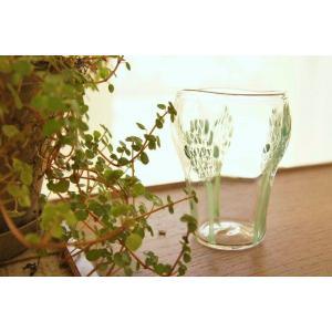 吹きガラス グラス コップ hopホップ 小サイズ 中野由紀子 作家|sotsot