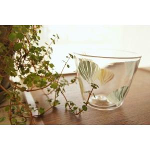吹きガラス フリーカップ グラス デザートカップ 貝 中野由紀子 作家|sotsot