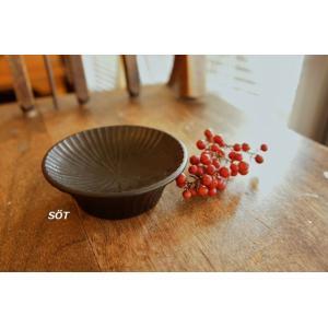 漆器 豆皿 黒 落合芝地 作家|sotsot