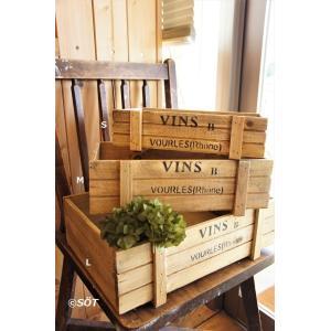 ガーデンウッドボックス SML3個セット|sotsot