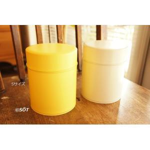 キャニスター 保存容器 ブリキ製 手作りオリジナル Sサイズ 2色 日本製(東京・浅草) 加藤製作所|sotsot