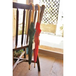 傘 UV加工 晴雨兼用 コットン長傘 小 女性用  日本製(一部中国製) 松野屋|sotsot