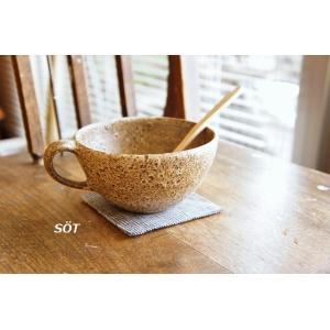 陶器 ムーンスープカップ 松宮洋二 作 sotsot