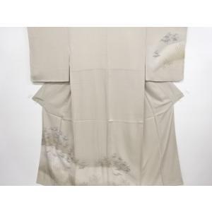 衿は広衿です。 仕付け付き未使用品のため、状態は大変良いです。 着用可能です。   身丈:151cm...