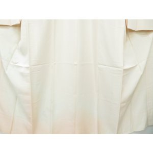 宗sou 長襦袢 袷仕立て 絵羽襦袢 精華 暈しに雀と秋桜文【リサイクル】【着】|sou|04