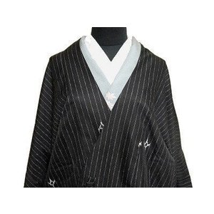 ★合繊の道中着ですが、柄行といい縫製といい高級感あふれるお仕立て上がりのロング道中着です。  ★ロン...