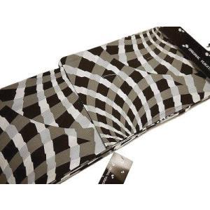 浴衣  女性用 プレタゆかた 古典柄  モノトーン 幾何模様 フリーサイズ BL35 仕立て上がり ...