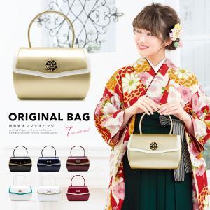 成人式や卒業式におすすめな創美苑オリジナルのハンドバッグ   ■色 A 黒(bag652m-3381...