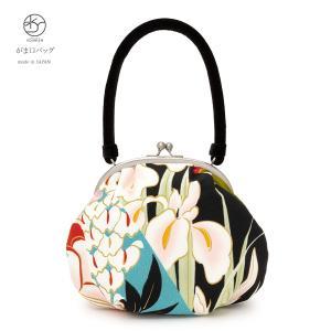 成人式におすすめなレトロモダンながま口バッグ   ■色 カラフルなど  ■素材 表面 ポリエステル1...