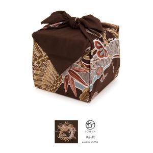使いやすいサイズの大判風呂敷   ■サイズ 三巾  ■色 茶色など  ■素材 綿100%     ■...